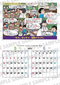 2015お薬カレンダー