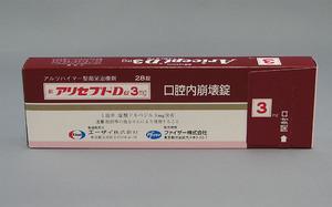 アリセプトD錠3mg